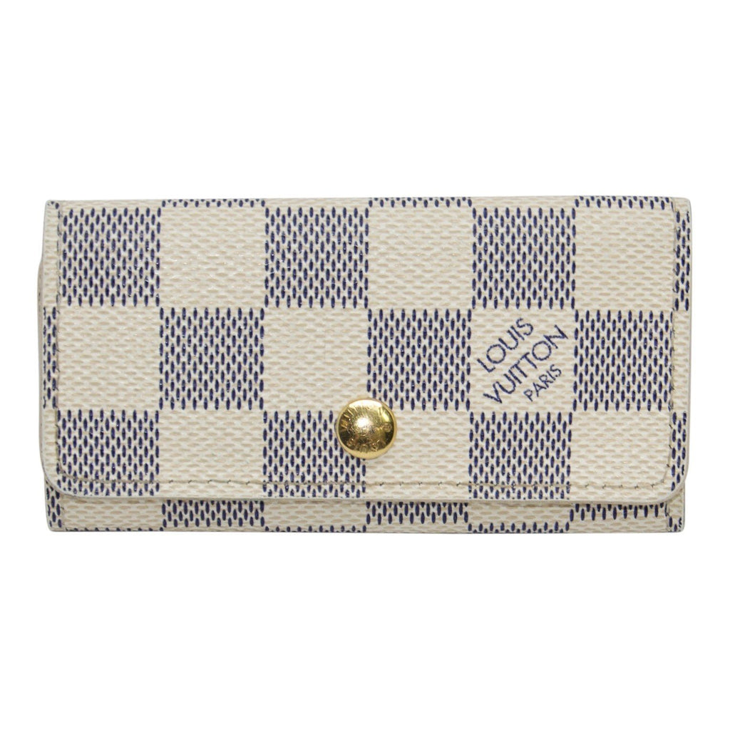 Louis Vuitton Damier Azur 4 Key Holder
