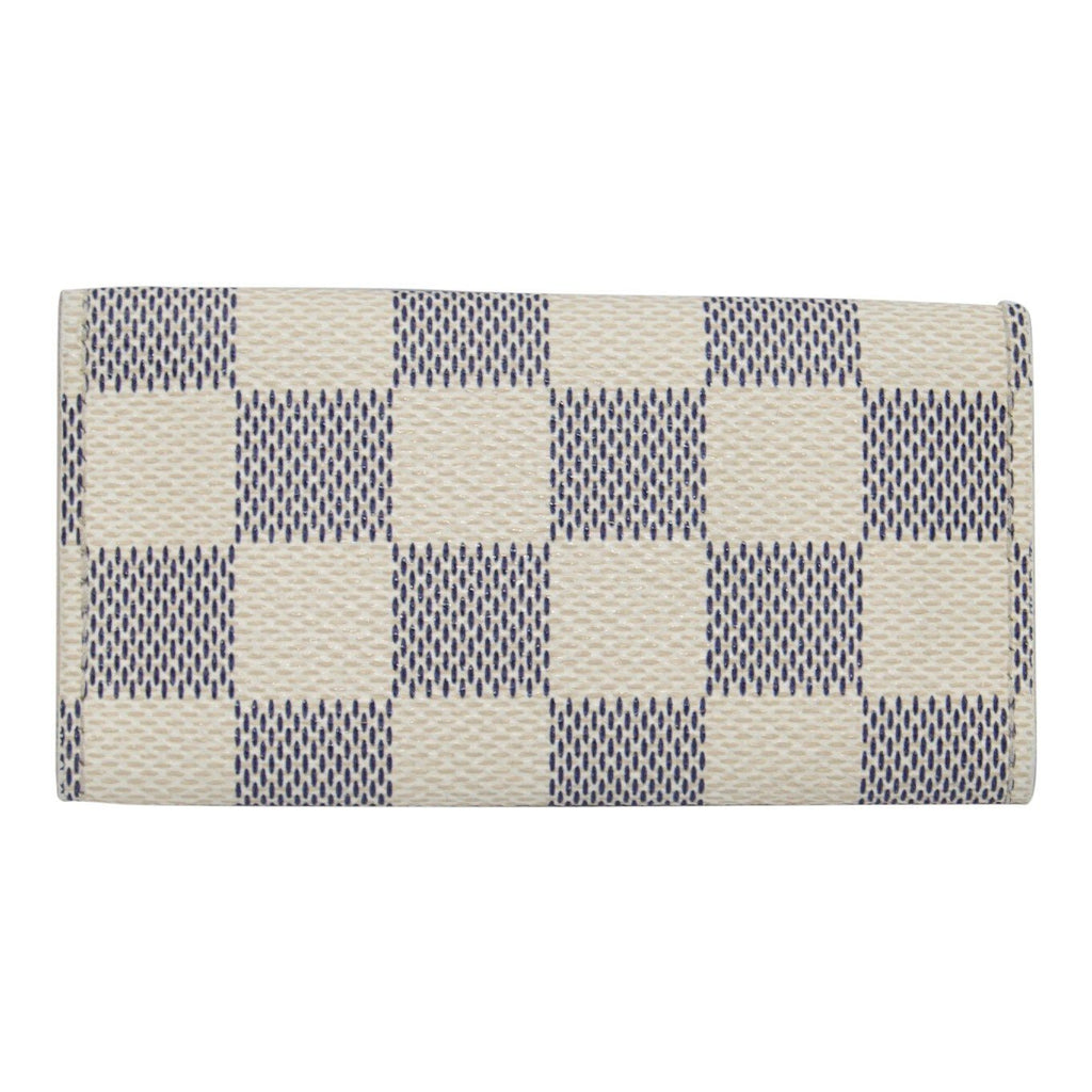 Louis Vuitton Damier Azur 4 Key Holder - Wallets
