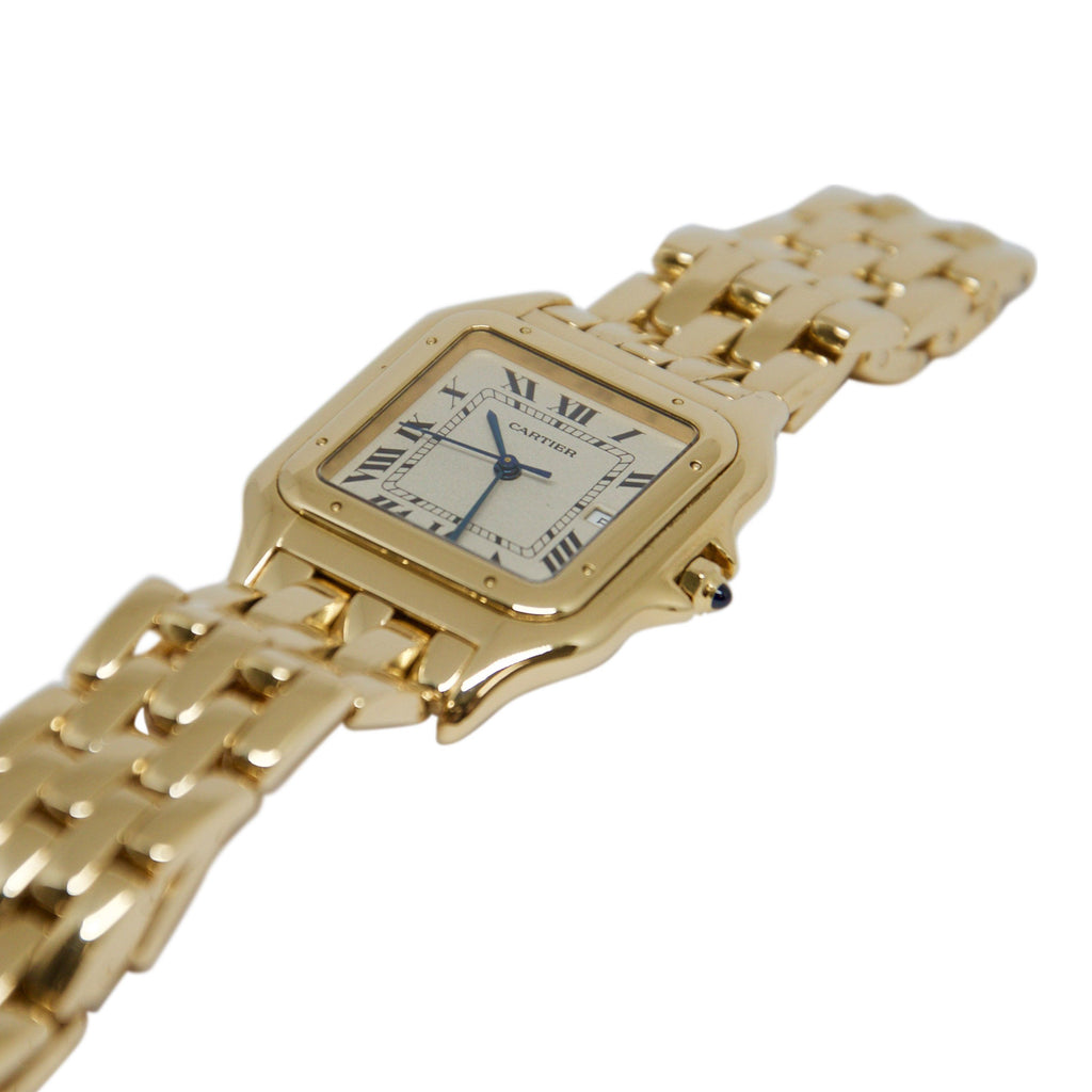 Cartier Jumbo Size Gold Panthere Watch - Watches