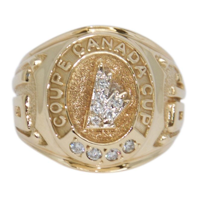 1984 Canada Cup Diamond Ring Men's Jewellery Miscellaneous
