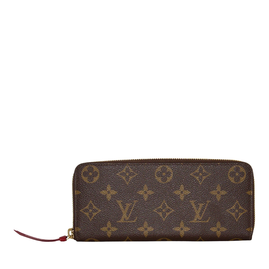 Louis Vuitton Monogram Clemence Wallet Wallets Louis Vuitton