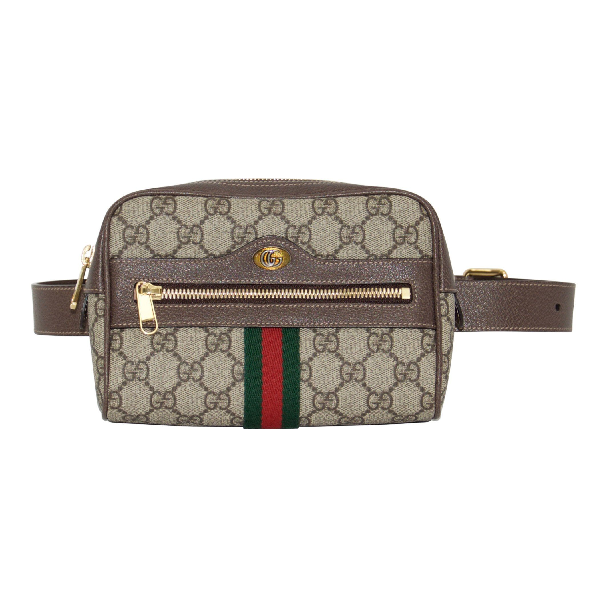 3de4be29145b2 Gucci Ophidia GG Supreme Small Belt Bag– Oliver Jewellery