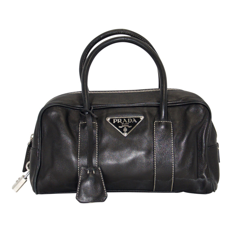 Prada Black Tessuto ShoulderBag