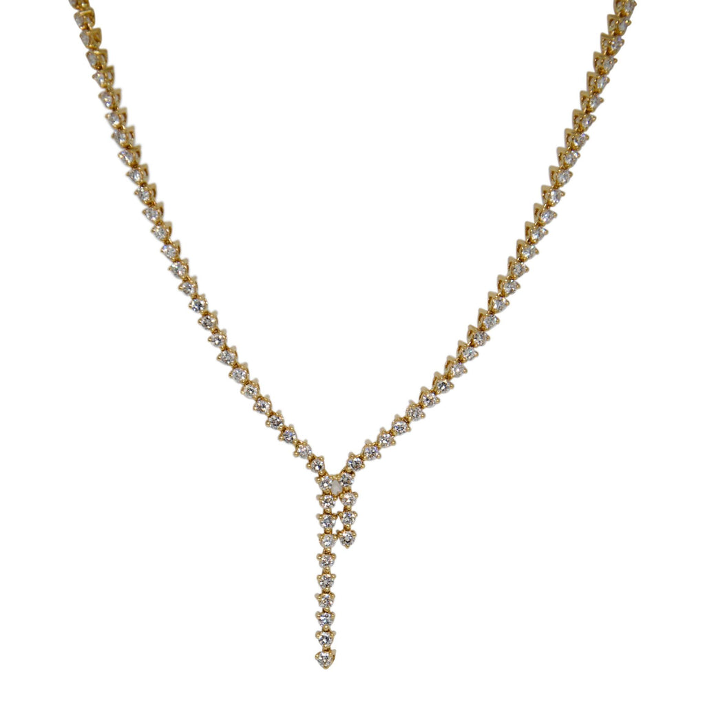 Diamond Necklace - Necklaces