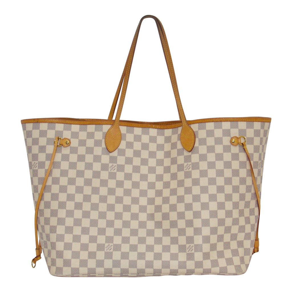 Louis Vuitton Damier Azur Neverfull GM with Pouch