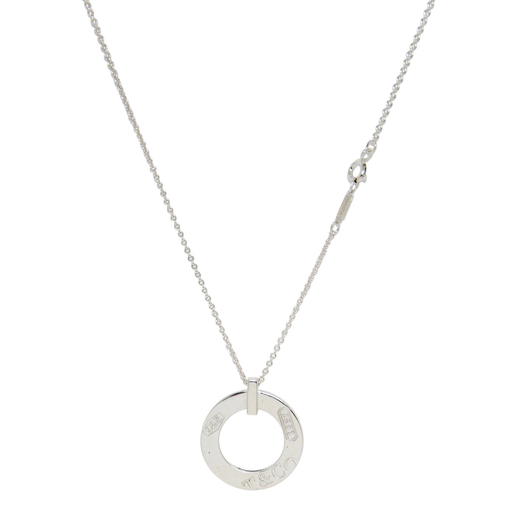 Tiffany & Co. 1837 Open Circle Pendant Necklace Necklaces Tiffany & Co.