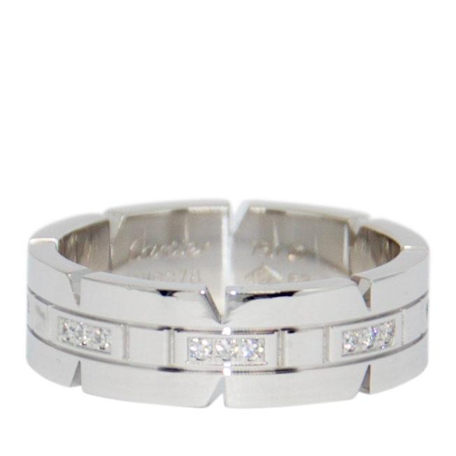 Cartier Diamond Tank Francaise Ring