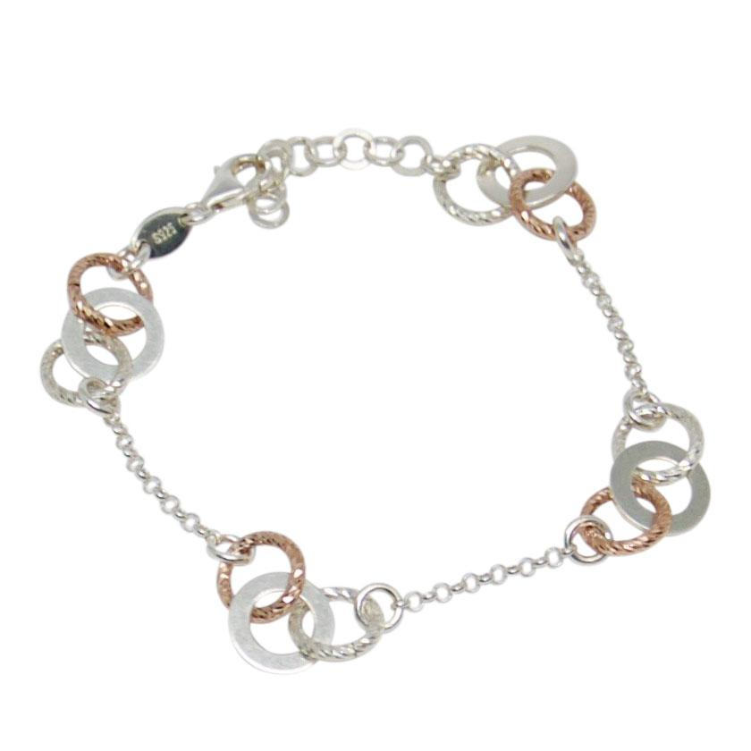Links of London Aurora Two-Tone Multi Link Bracelet Bracelets Links of London