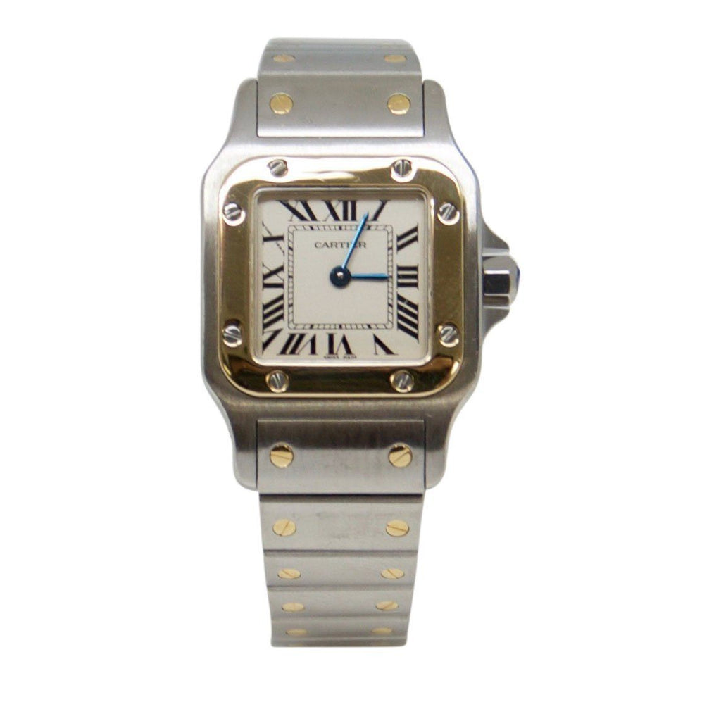 Cartier Two-Tone Santos de Cartier Galbee Watch
