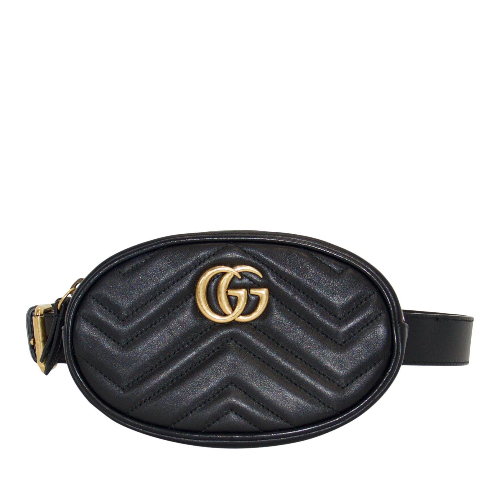 e6409951f7385c Gucci GG Marmont Matelasse Leather Belt Bag– Oliver Jewellery