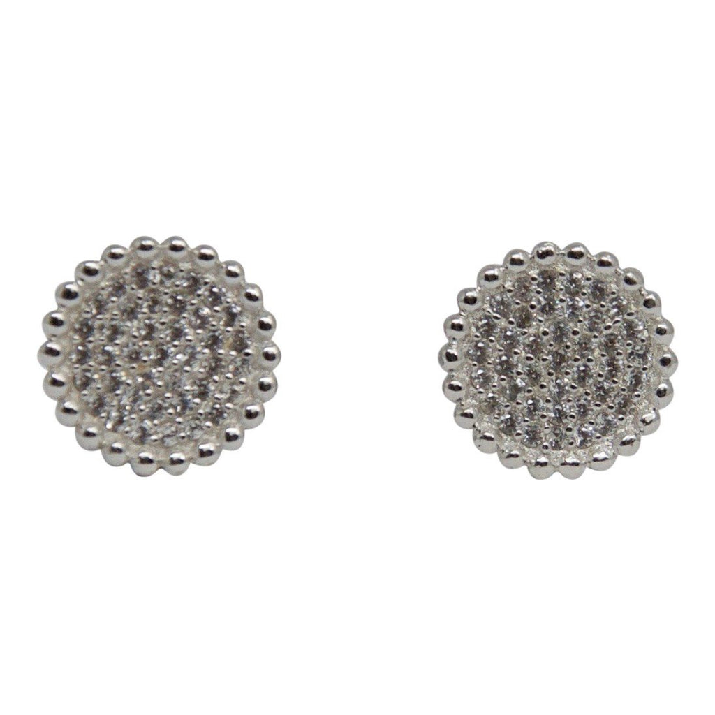 Links of London Effervescence Pave Diamond Stud Earrings Earrings Links of London