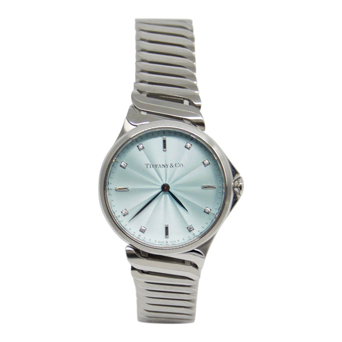 8c8a0f51af56 Tiffany   Co. Metro 2-Hand 28 mm Watch - Oliver Jewellery