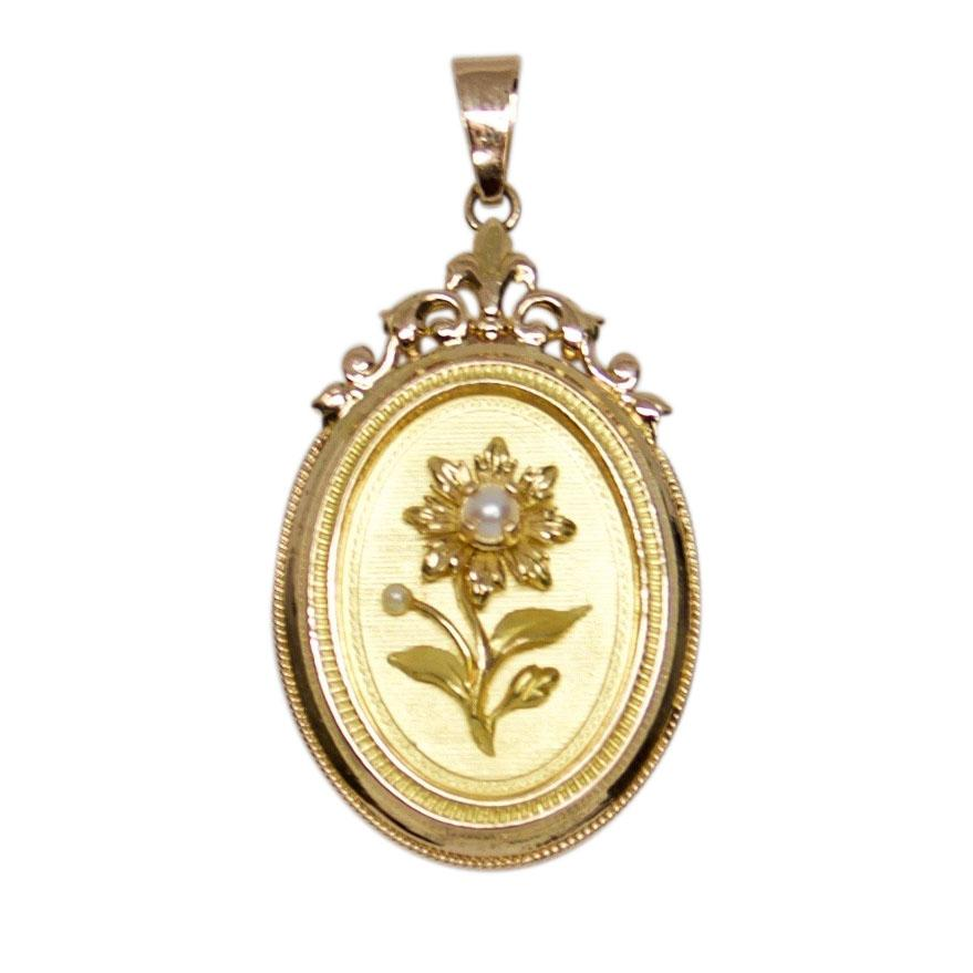 Antique Locket Pendant Charms & Pendants Antiques