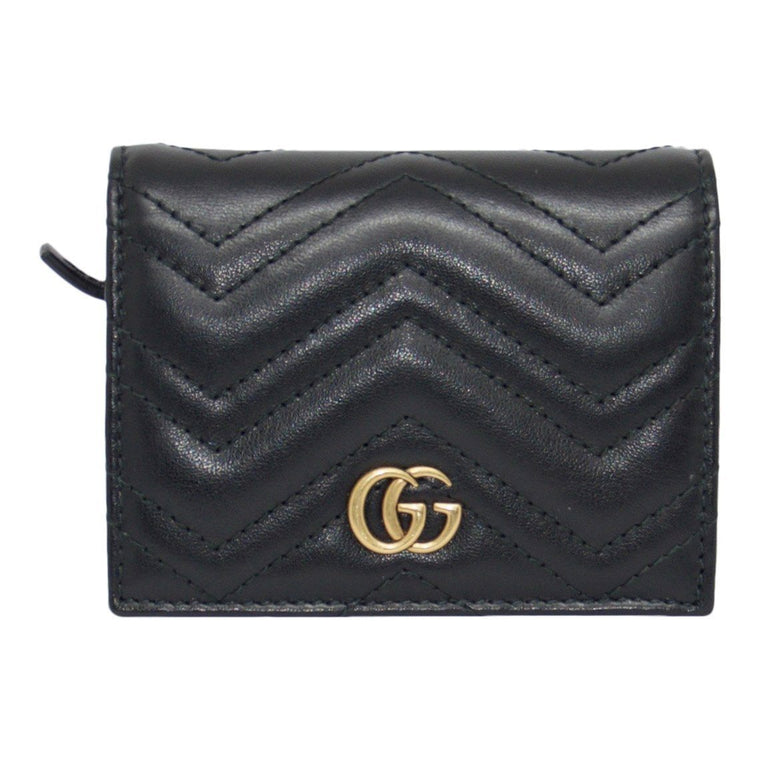 Gucci Gg Marmont Card Case - Wallets