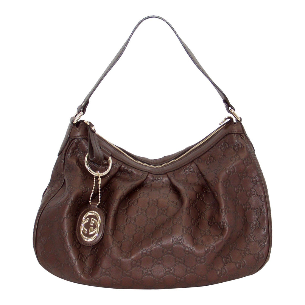 Gucci Medium Guccissima Sukey Hobo Bags Gucci