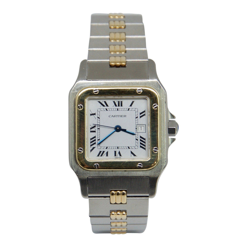 Cartier 2-Tone Santos Galbee Watch - Watches