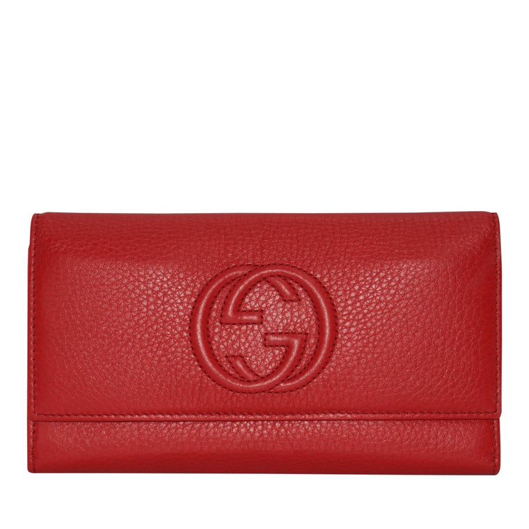 Gucci Soho Continental Wallet