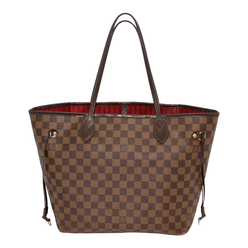 Louis Vuitton Damier Ebene Neverfull Mm - Bags