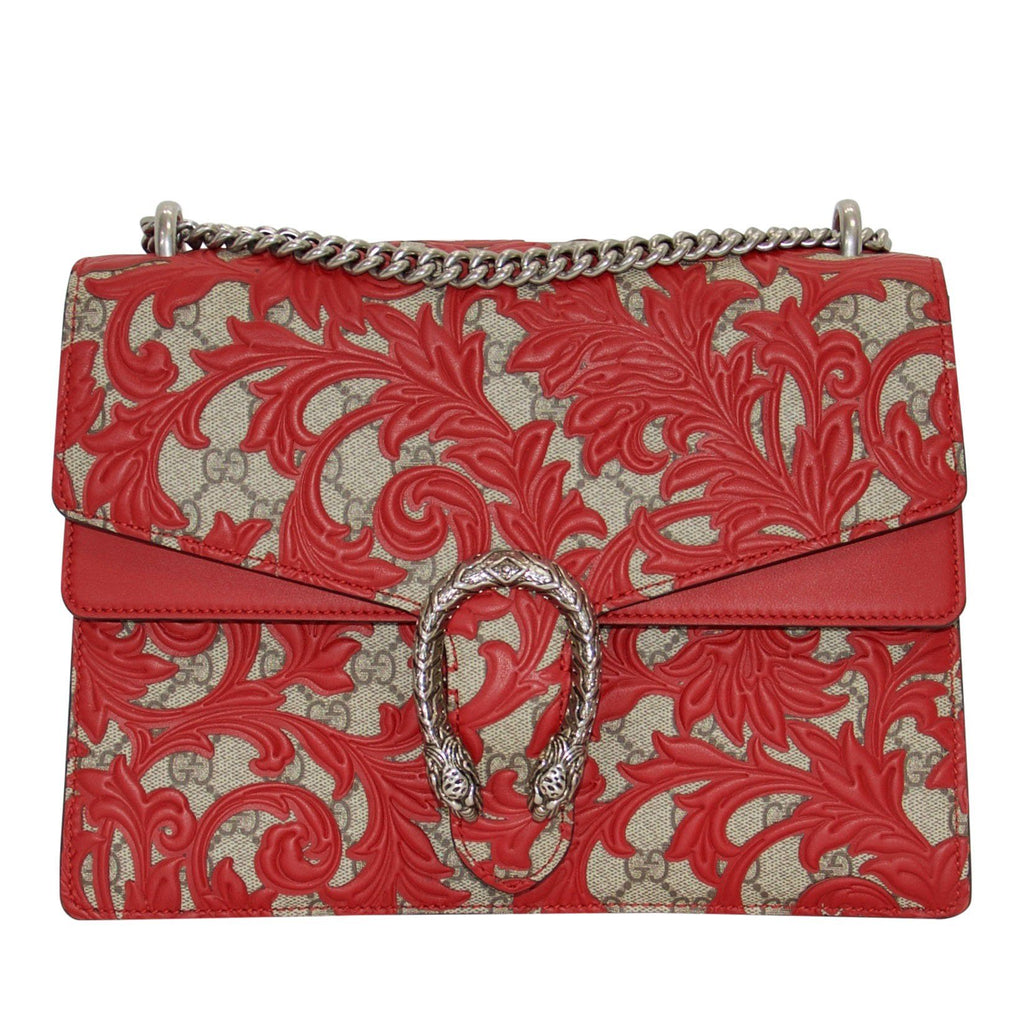 Gucci Limited Edition GG Supreme Arabesque Dionysus Bag