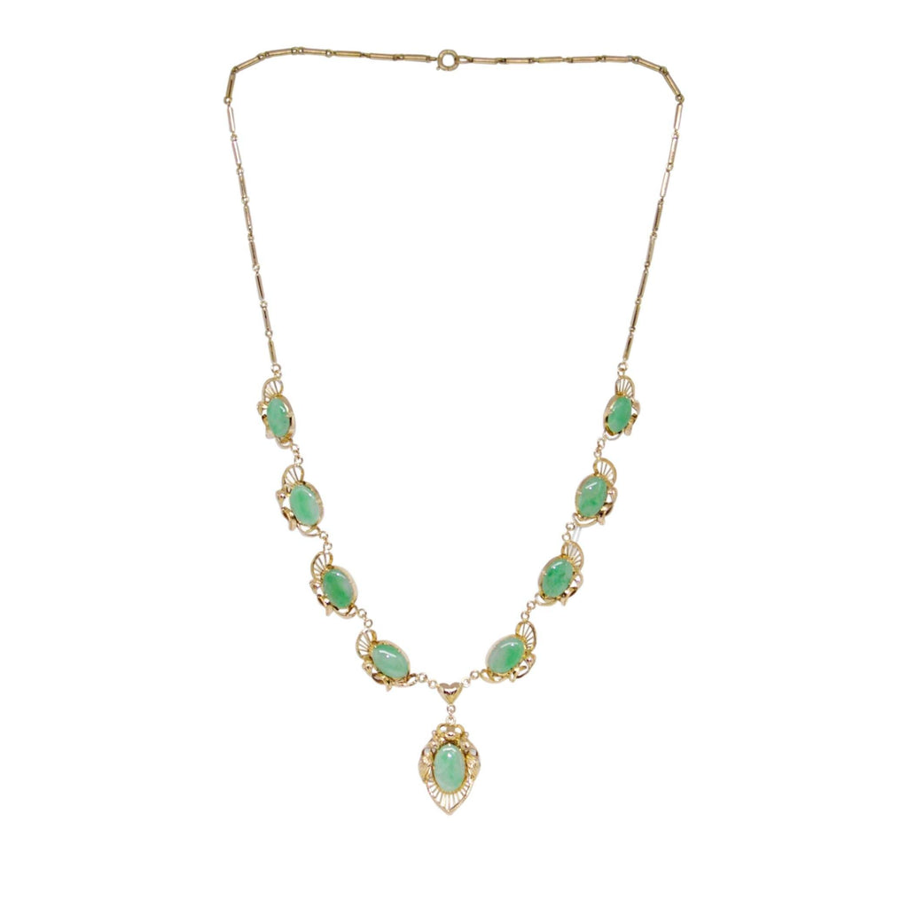 Jade Link Necklace Necklaces Miscellaneous