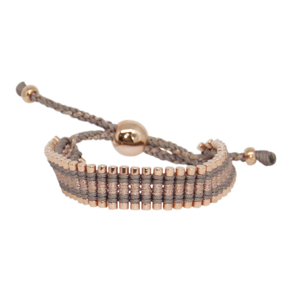 Links of London Rose Gold Vermeil Friendship Bracelet Bracelets Links of London