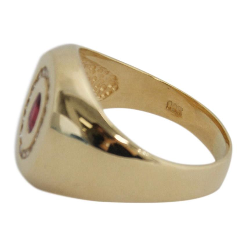 Ruby and Diamond Ring Men's Jewellery Miscellaneous