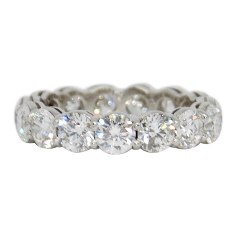 Diamond Eternity Band Ring - Rings
