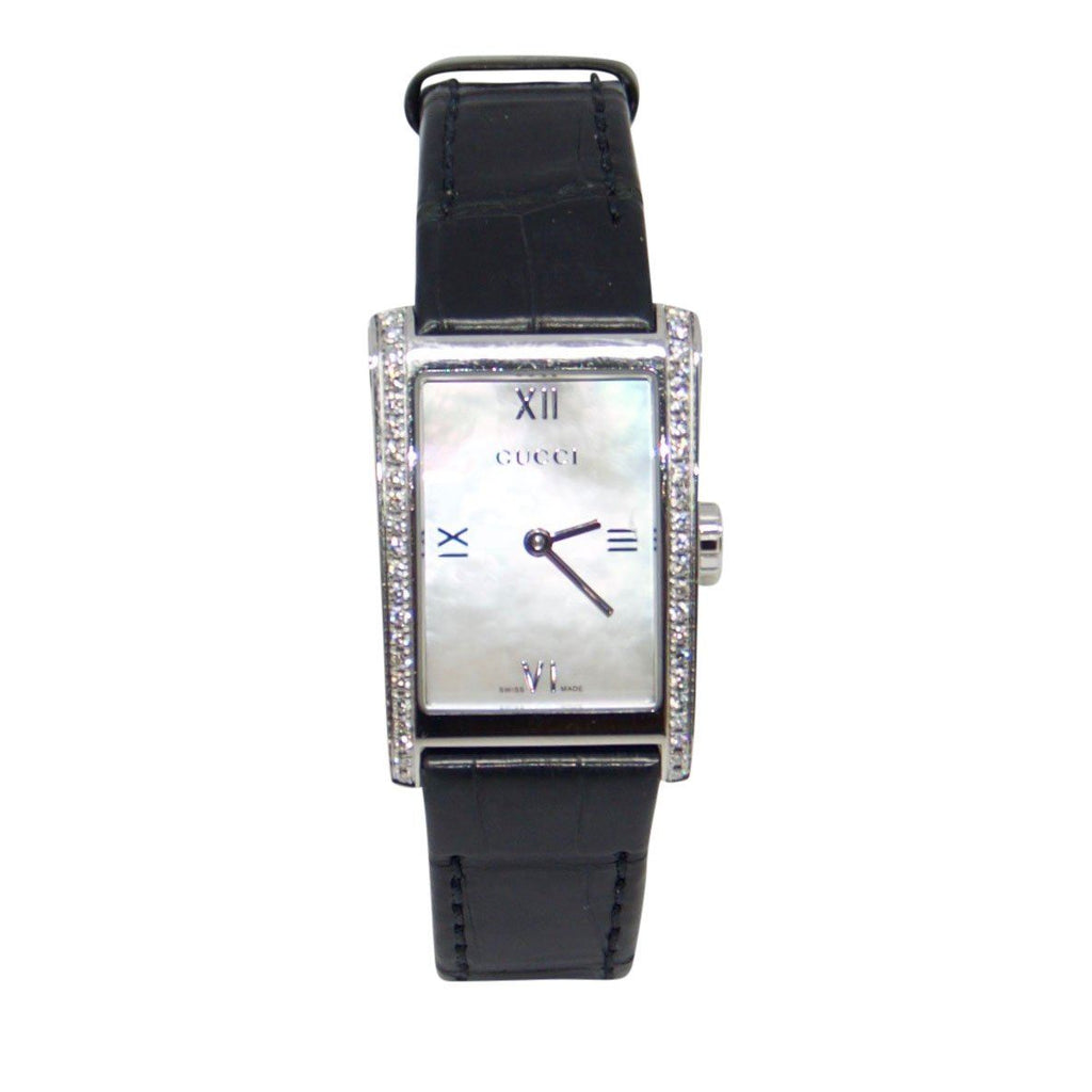 Gucci 8600 Series Watch with Diamond Bezel Watches Gucci