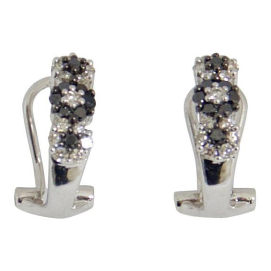 Black & White Diamond Earrings Earrings Miscellaneous