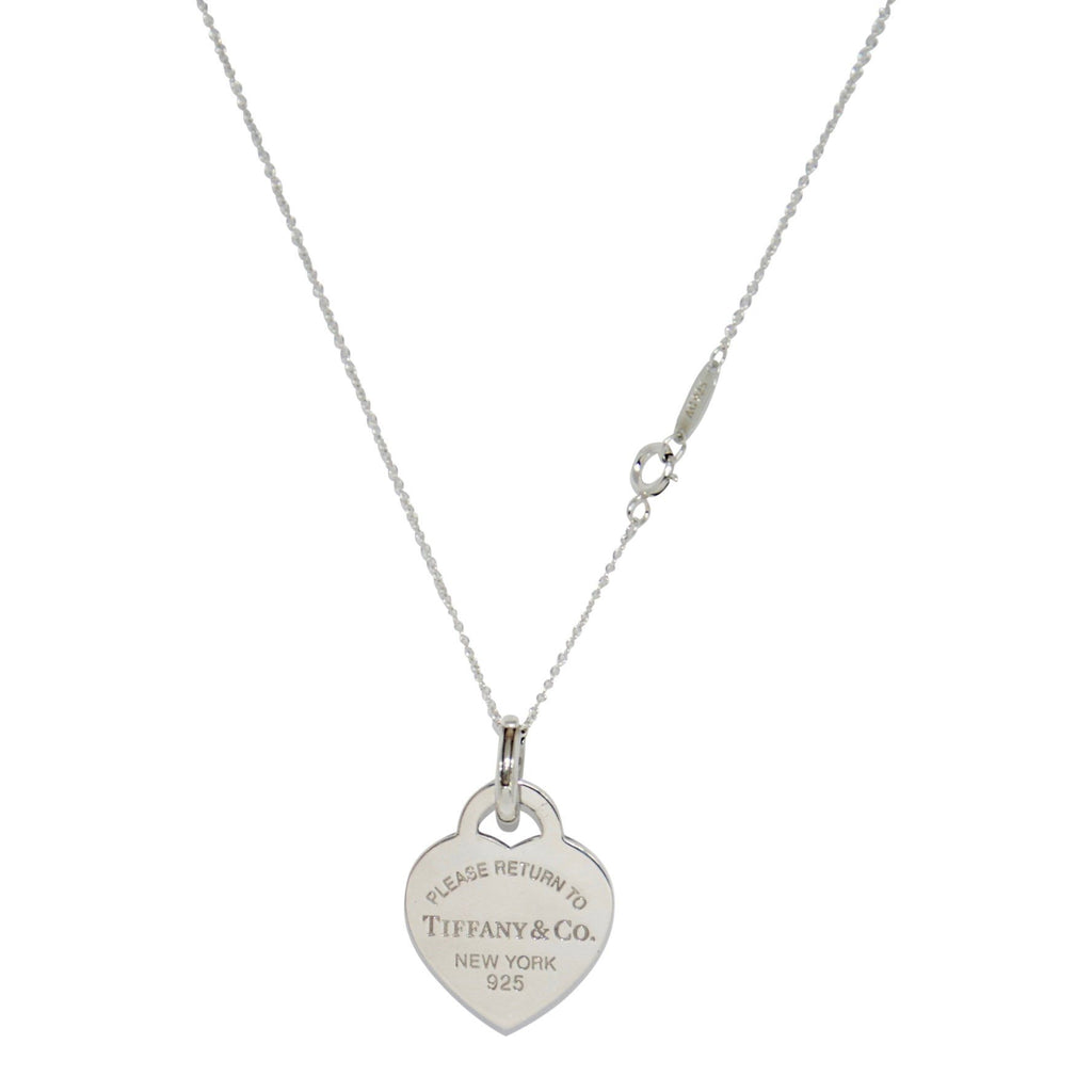 Tiffany & Co. Return To Tiffany Heart Tag Pendant Necklace - Necklaces