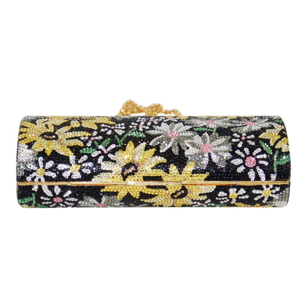 Judith Leiber Marguerite Crystal Embellished Frame Clutch Bags Miscellaneous
