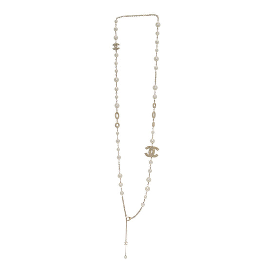 3ac4548a8c88 Chanel Cc   Faux Pearl Necklace - Necklaces