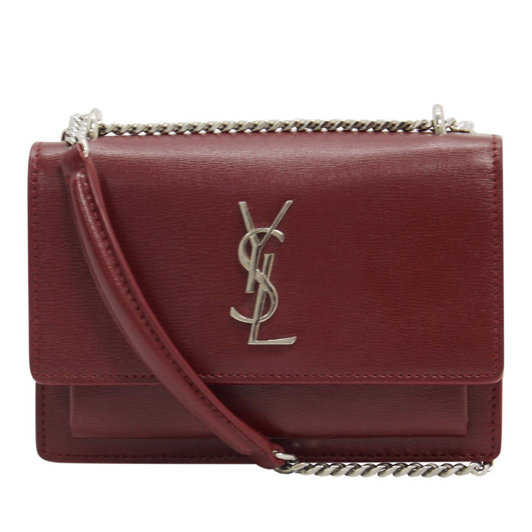 Yves Saint Laurent Small Sunset Chain Wallet Bag Bags YSL