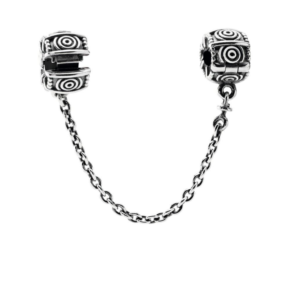 Pandora Dreamer Safety Chain with Clips Charms & Pendants Pandora
