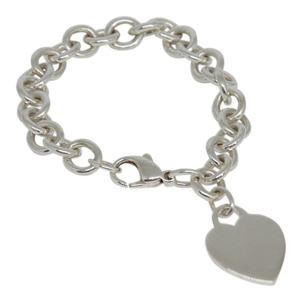 Tiffany & Co. Heart Tag Charm Bracelet - Bracelets