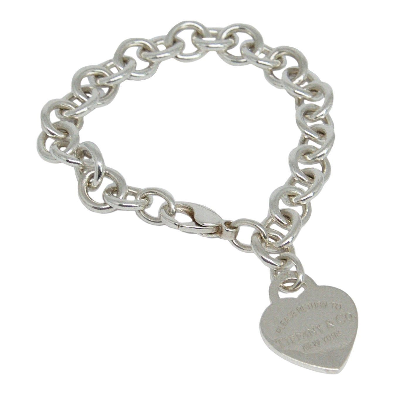 5e2b173ebed8 Tiffany   Co. Return To Tiffany Heart Tag Charm Bracelet - Bracelets ...