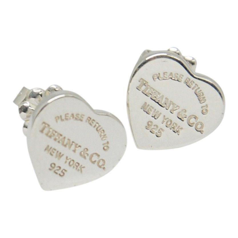 Tiffany & Co. Return To Tiffany Mini Heart Tag Earrings - Earrings