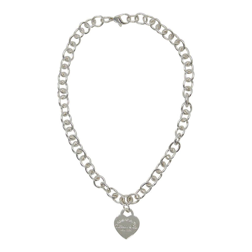 Tiffany & Co. Return To Tiffany Heart Tag Necklace - Necklaces