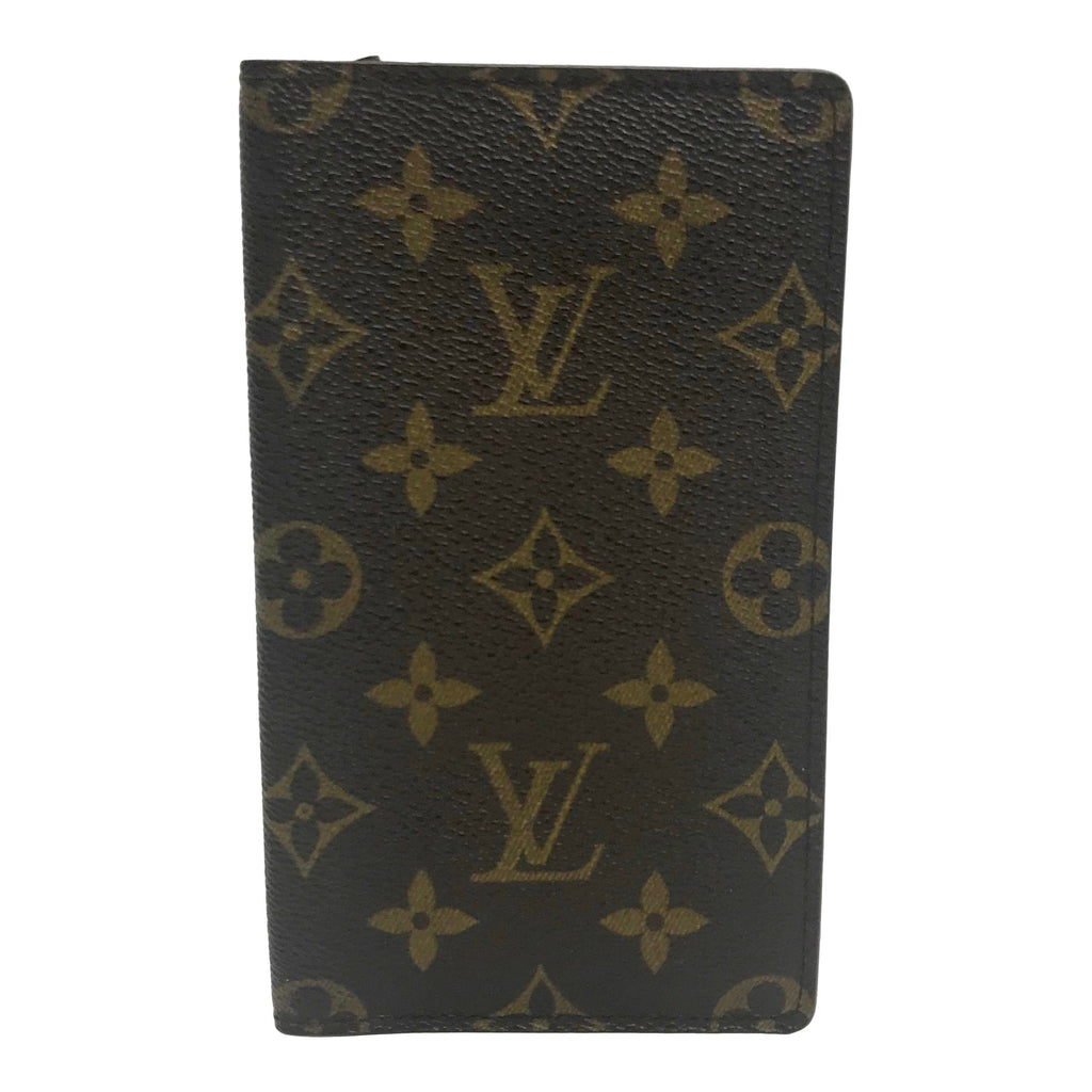 Louis Vuitton Vintage Monogram Checkbook Holder Wallets Louis Vuitton