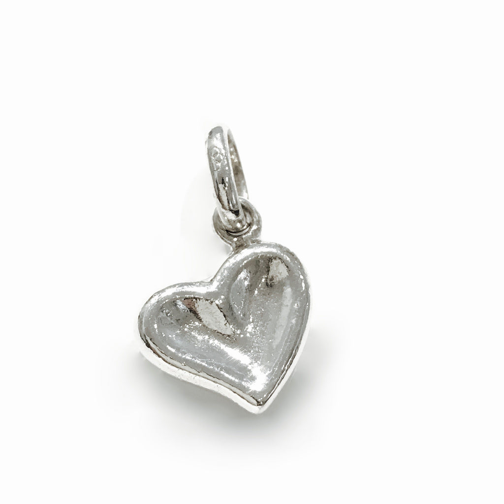 Links Of London Thumbprint Heart Charm - Charms & Pendants