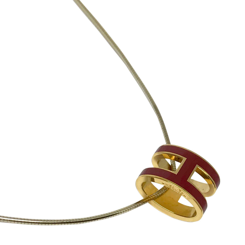 Hermes Pop H Pendant Necklace