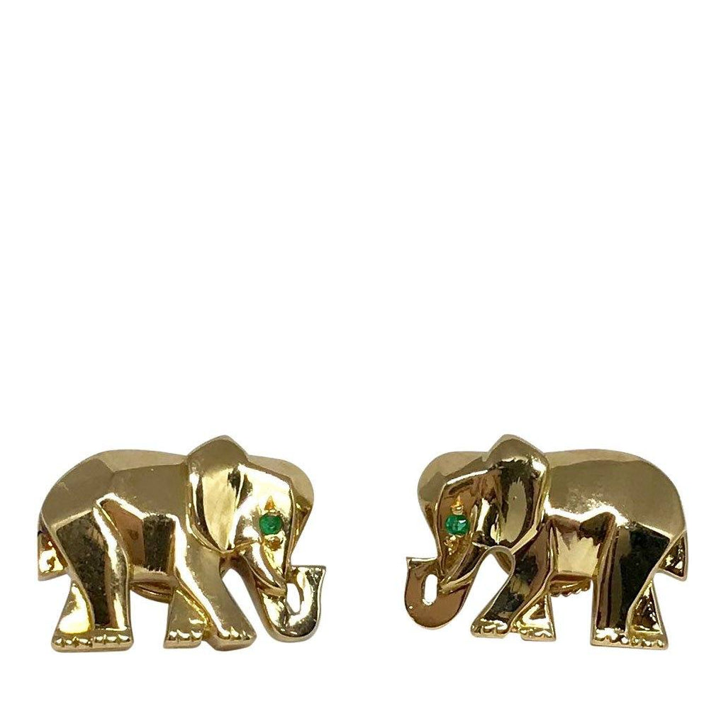 Cartier Rare Khandy Collection Vintage Elephant Earrings