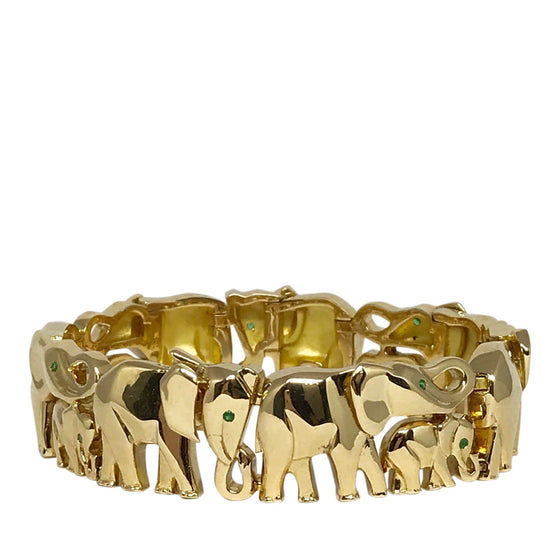 Cartier Rare Khandy Collection Vintage Elephant Bracelet Bracelets Cartier