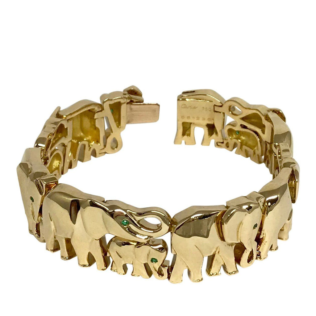 Cartier Rare Khandy Collection Vintage Elephant Bracelet