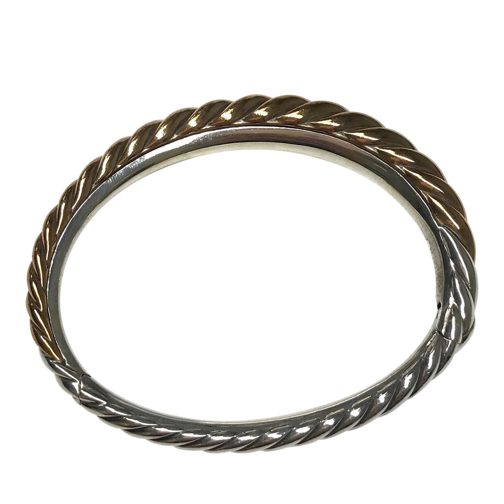 David Yurman Pure Form Mixed Metal Cable Bracelet Bracelets David Yurman