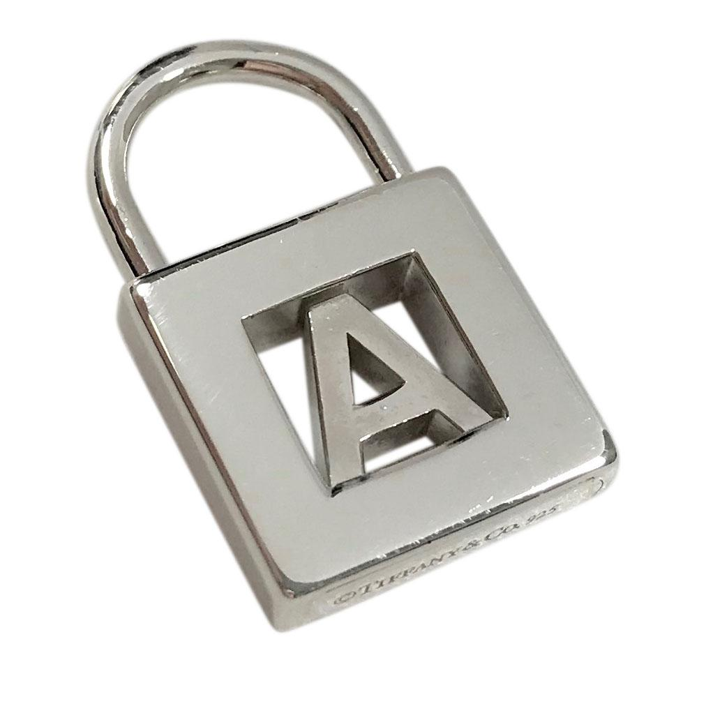 Tiffany & Co. 'A' Letter Lock Charm