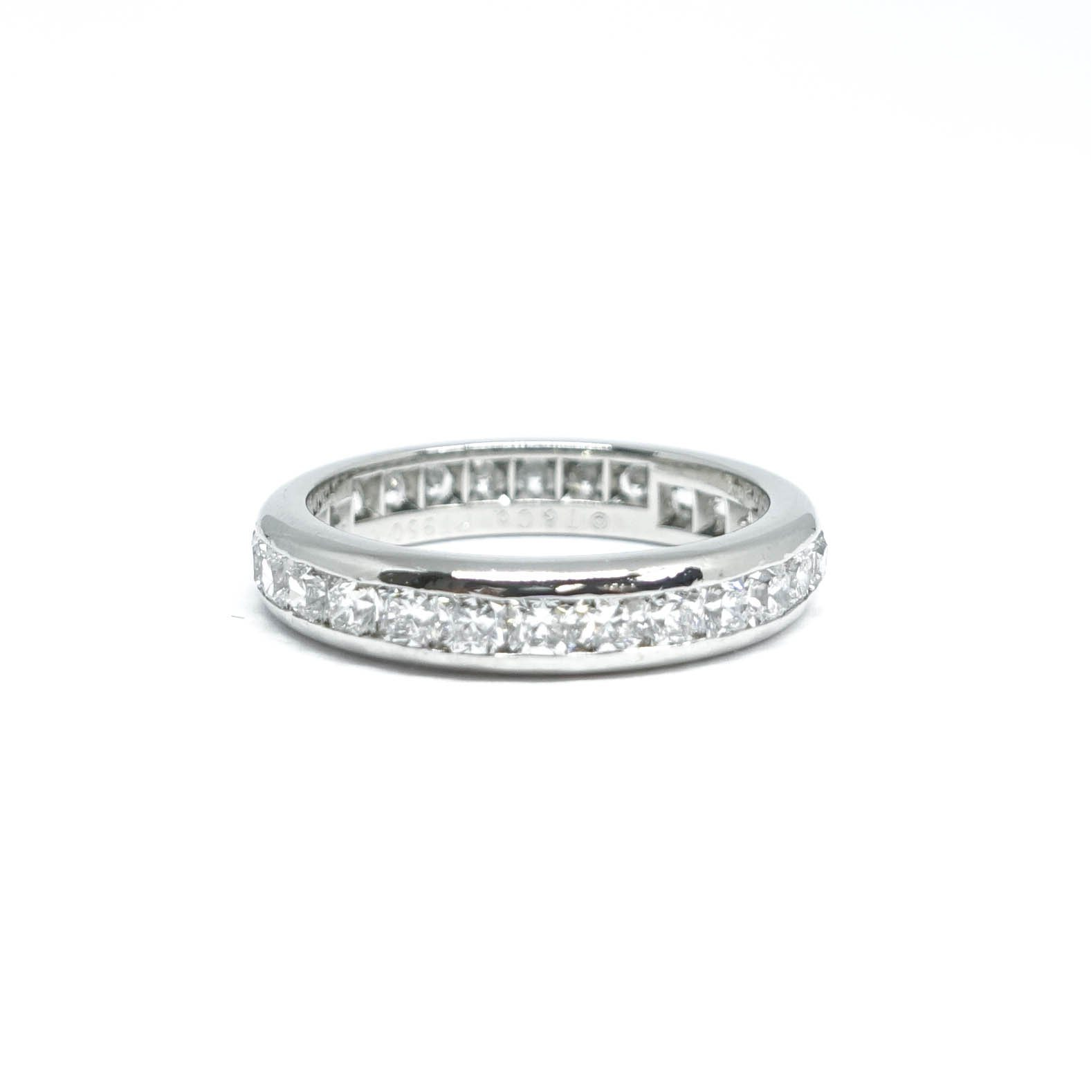 8fc3afb5e Tiffany & Co. Lucida Diamond Eternity Band– Oliver Jewellery