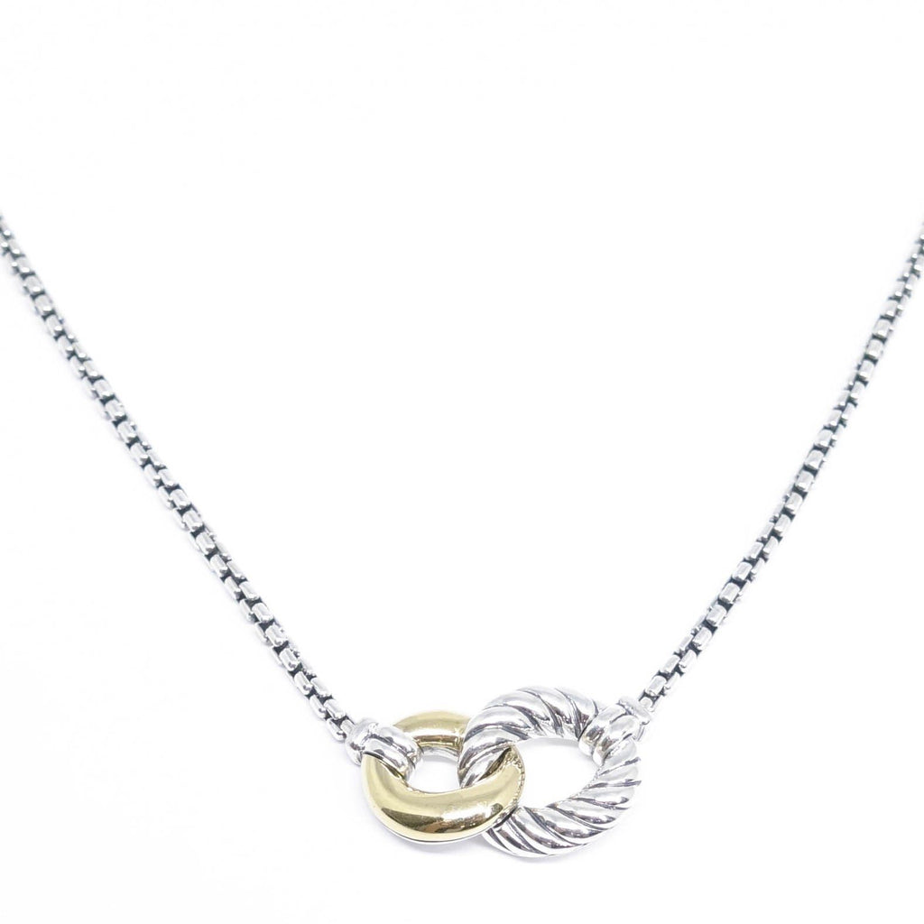 David Yurman Belmont Double Curb Link Necklace - Necklaces