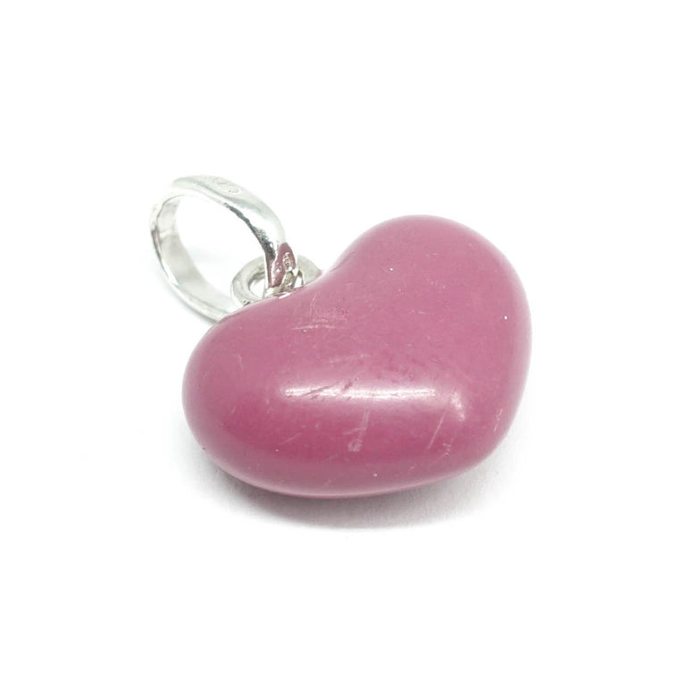 Links of London Large Puffed Pink Heart Charm