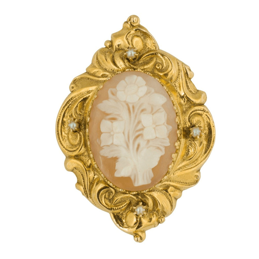 Antique Cameo Brooch/pendant - Brooches & Pins